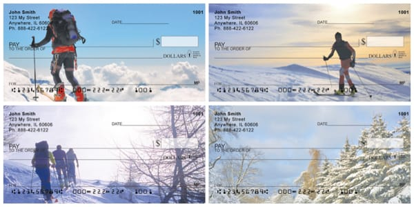 Ascending To Summits Winter Personal Checks