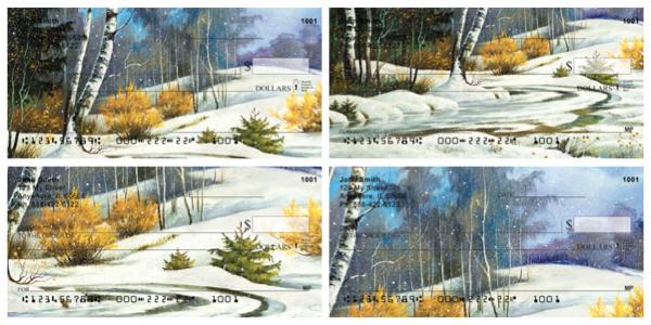 Aspen In Winter Personal Checks