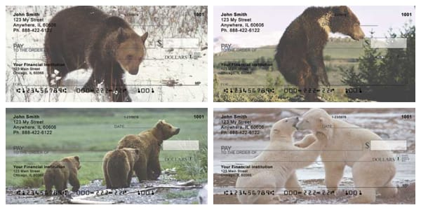 Bears in the Wild Personal Checks