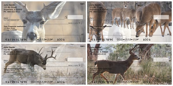 Deer in Winter Personal Checks