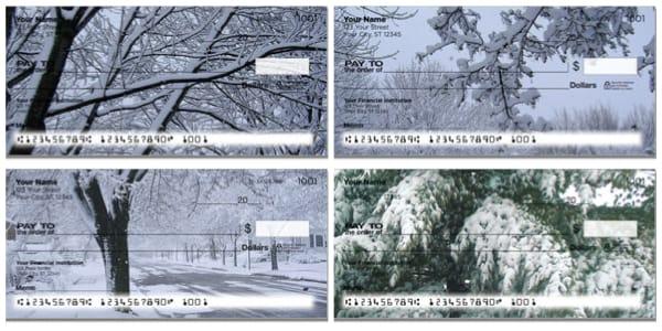 Fresh Snowfall Personal Checks