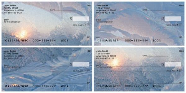 Frosty Windows Personal Checks