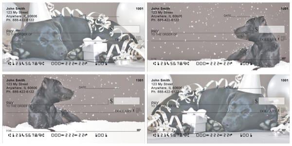 Labrador Winter Party Checks