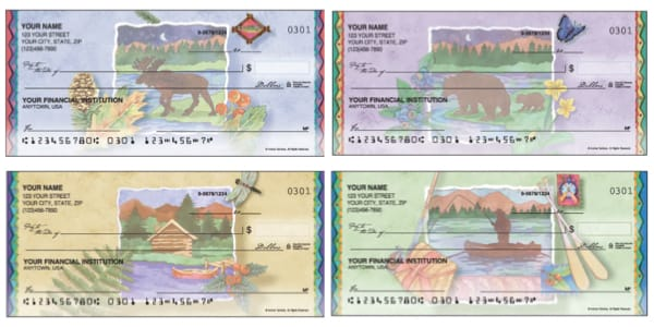 Northwoods Scenic Personal Checks