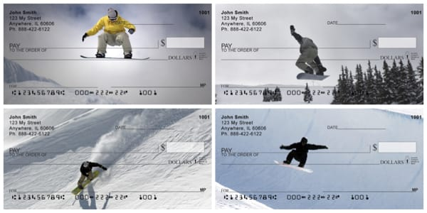 Riding On Air Snowboarding Personal Checks