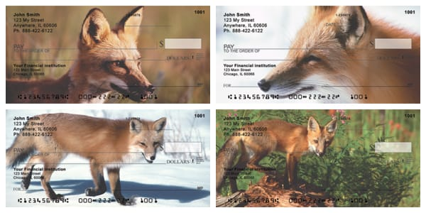 Sly as a Fox Personal Checks