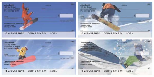Snowboarding Personal Checks