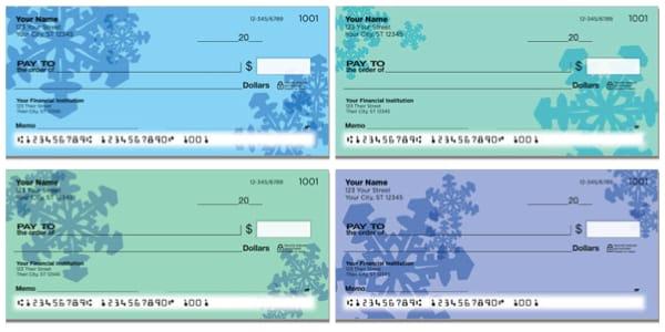 Snowflake Personal Checks