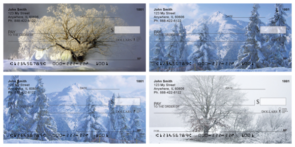 Snowy Winters Personal Checks