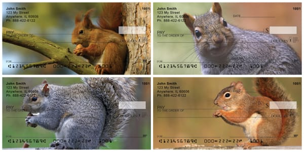 Squirrel Time Personal Checks
