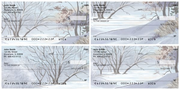 Still Of Winter Personal Checks