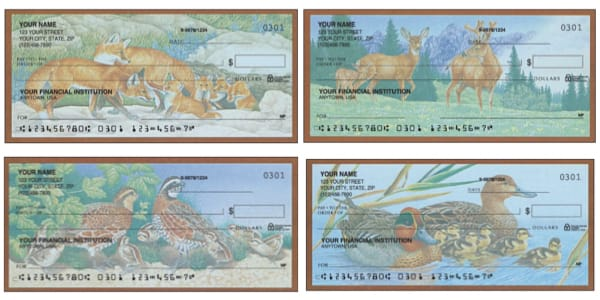 Wildlife Adventure Animal Personal Checks