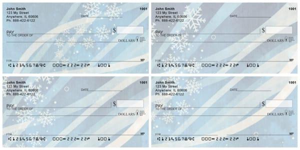 Winter Celebration Personal Checks