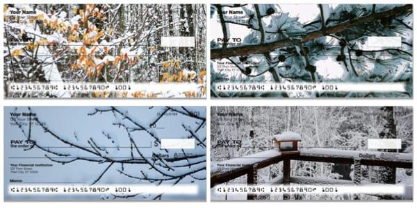 Winter Snow Personal Checks