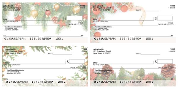 Winter Trinkets Personal Checks