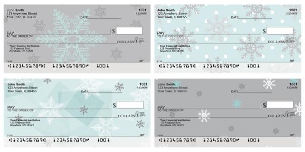 Winter Wonder Personal Checks