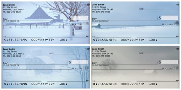 Winter on the Prairie Personal Checks