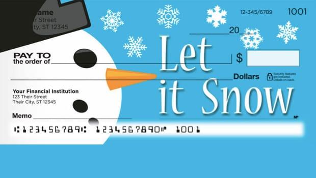 Let It Snow Checks