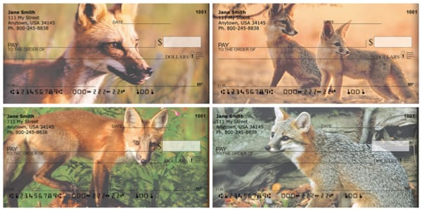 Out Foxed Personal Checks
