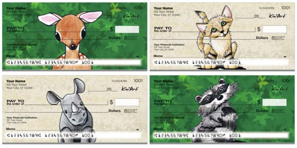 Wildlife Series 2 Personal Checks