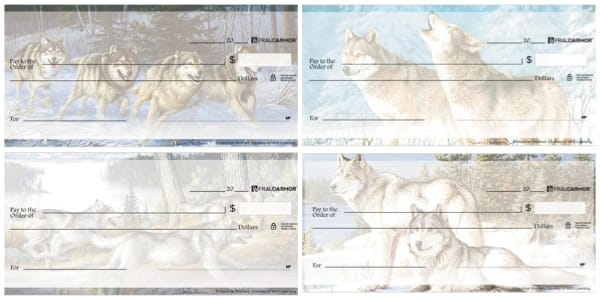 Wolves Personal Checks