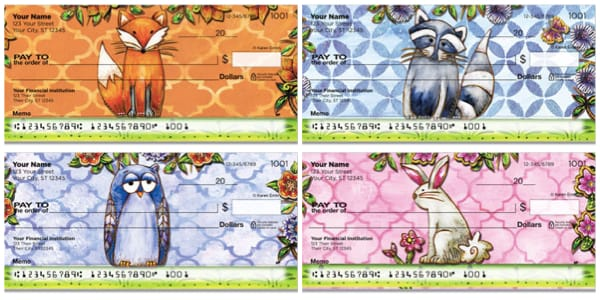 Woodland Friend Personal Checks