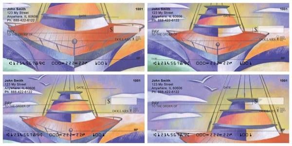 Artistic Look At Sailing Personal Checks