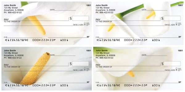 Calla Lilies Personal Checks