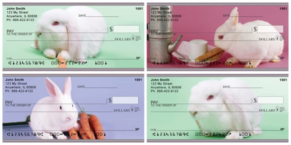 Fun Bunnies Personal Checks