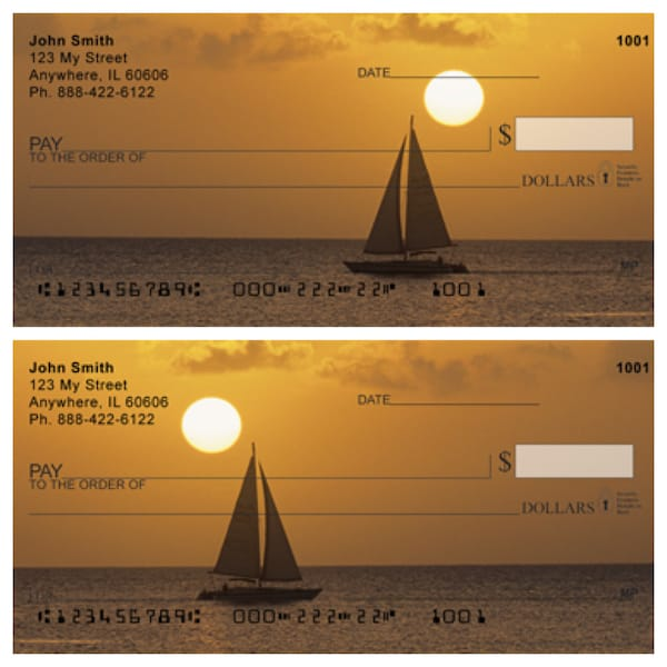 Golden Sails Personal Checks