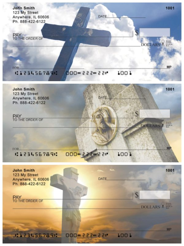 Heavenly Crosses Personal Checks