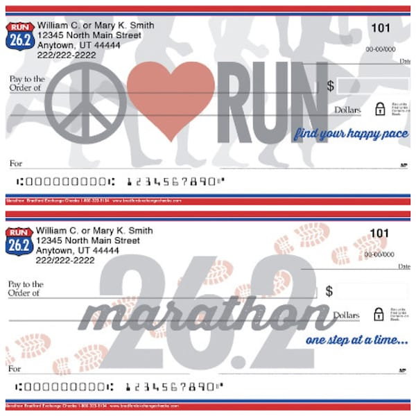 Marathon Personal Checks