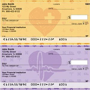 Medical Care Giver Love Personal Checks