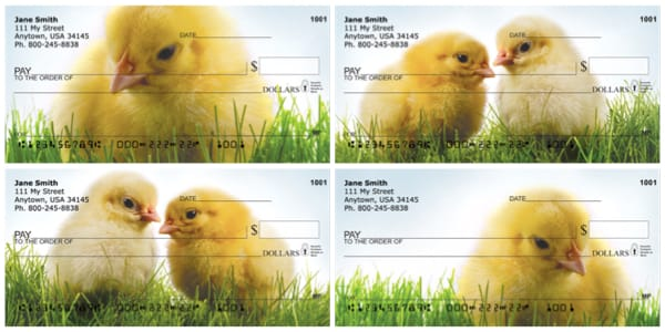 Spring Chicks Personal Checks