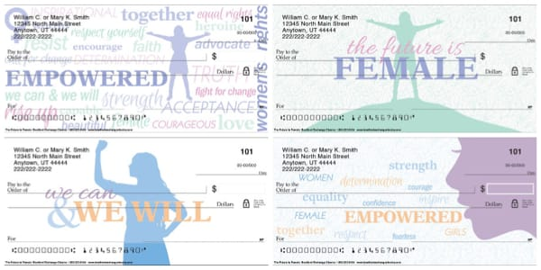 The Future is Female Personal Checks