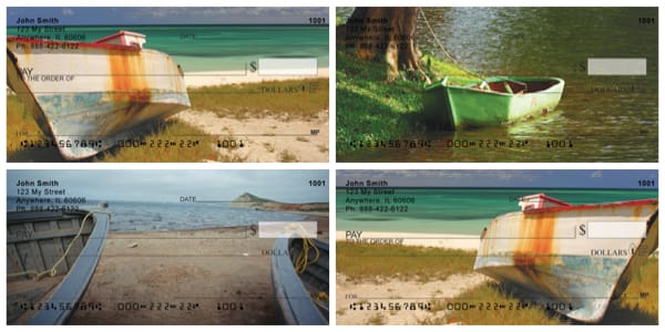 Vintage Boats Personal Checks