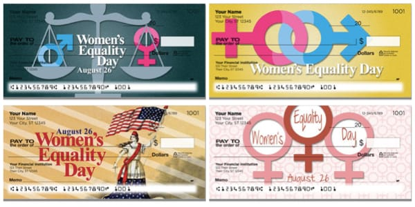 Women's Equality Female Empowerment Personal Checks