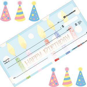 Happy Birthday Personal Checks