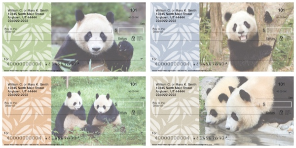 Panda Bears Nature Checks