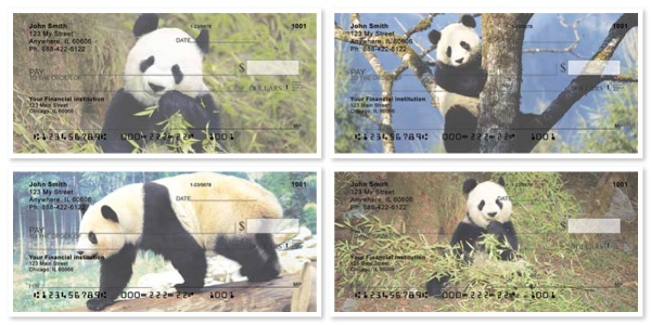 Panda Bears Checks