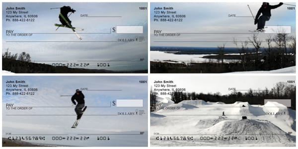 Skiing Personal Checks