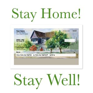 Stay Home Stay Well Home Sweet Home Checks