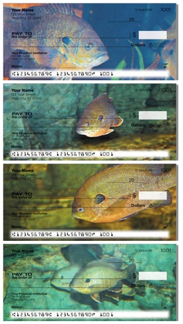 Bluegill Personal Checks