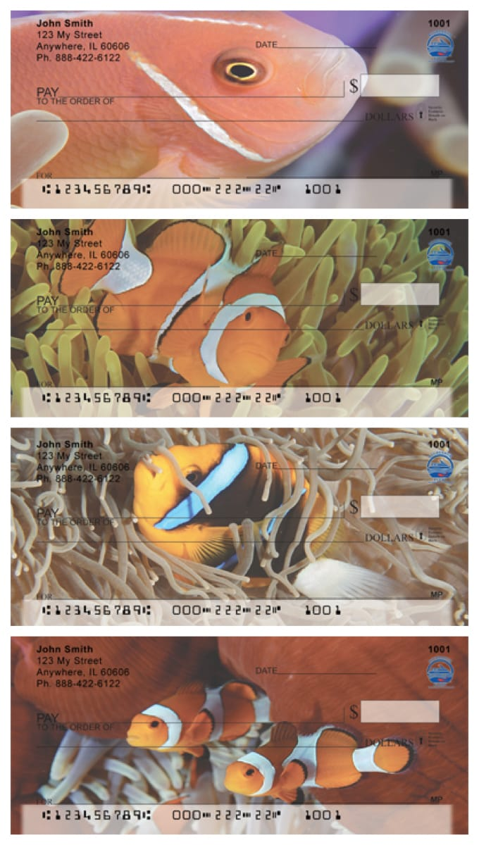 Clown Fish Personal Checks