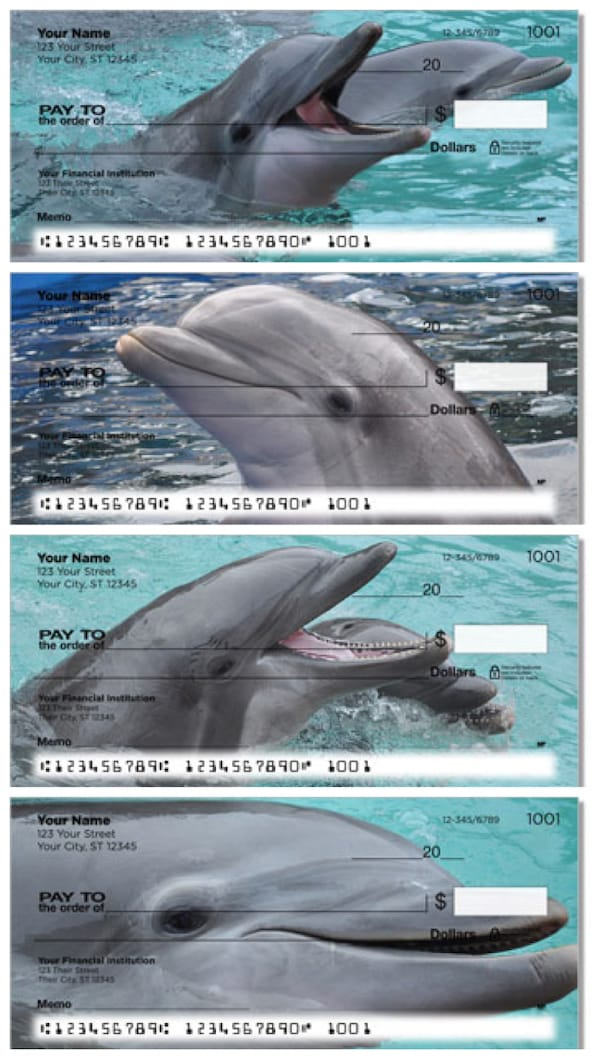 Dolphin Personal Checks