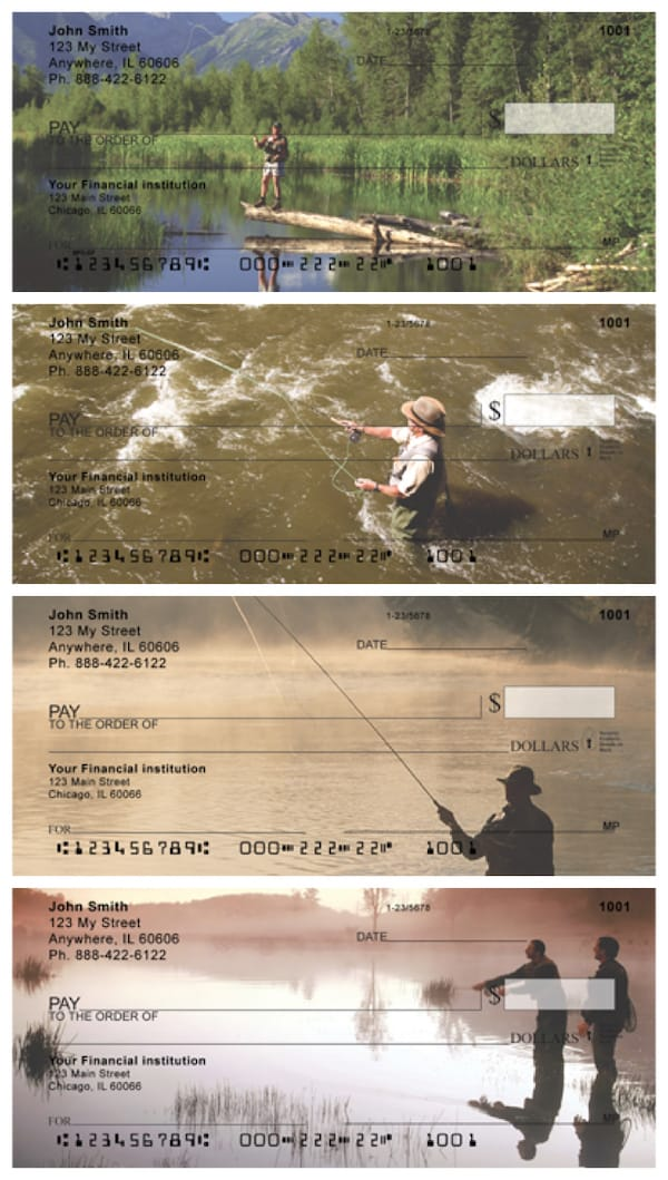 Scenic Fly Fishing Personal Checks