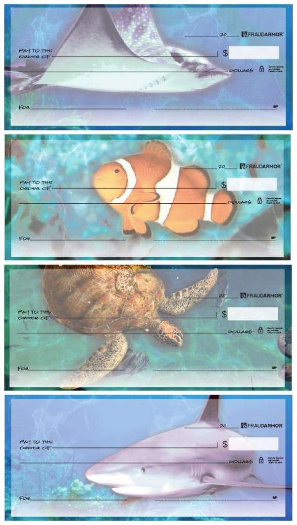Sea Life Personal Checks