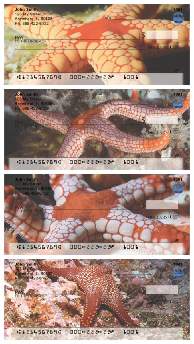 Sea Star Photo Bank Checks