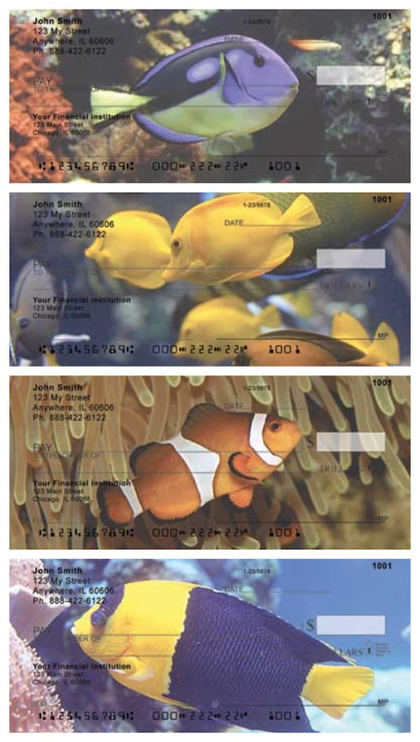 Tropical Fish Personal Checks
