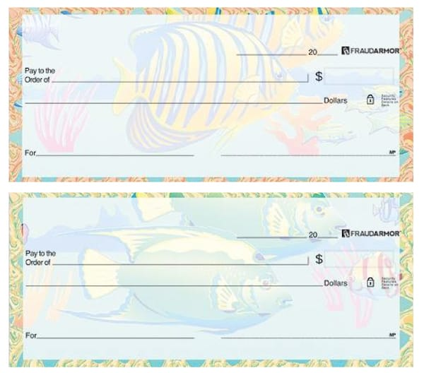 Tropical Waters Personal Checks